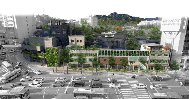 서울시, 돈의문박물관마을에 첫 실외 수직정원…설계공모당선작 발표
