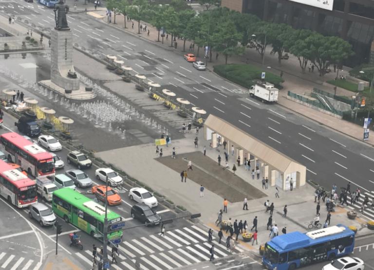 광화문 세월호 천막 '기억‧안전 전시공간'으로 재탄생