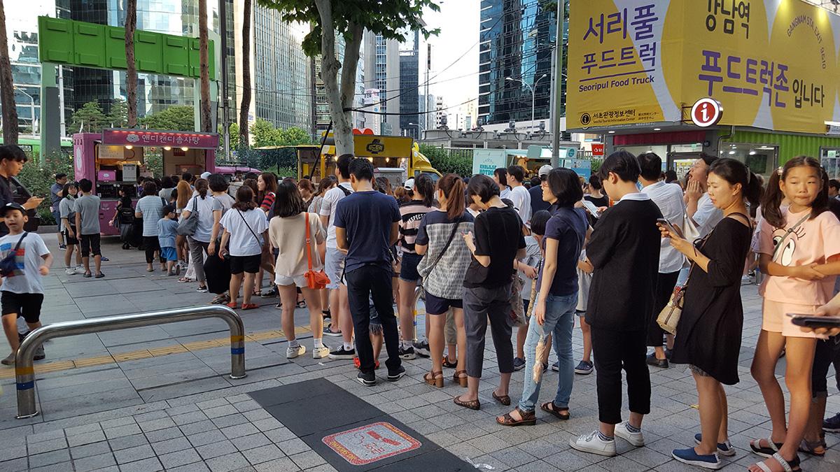서울시, 관광메카 남대문시장에'푸드트럭 특화거리'개장…야간명소로